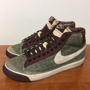 f971bcb9ac3e Nike Shoes - Nike Harris Tweed Hi Tops
